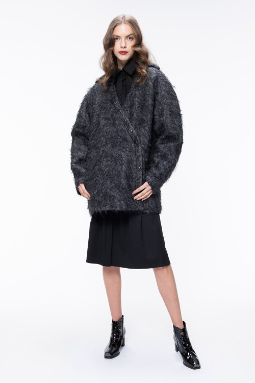 OVERSIZED MOHAIR JACKET
