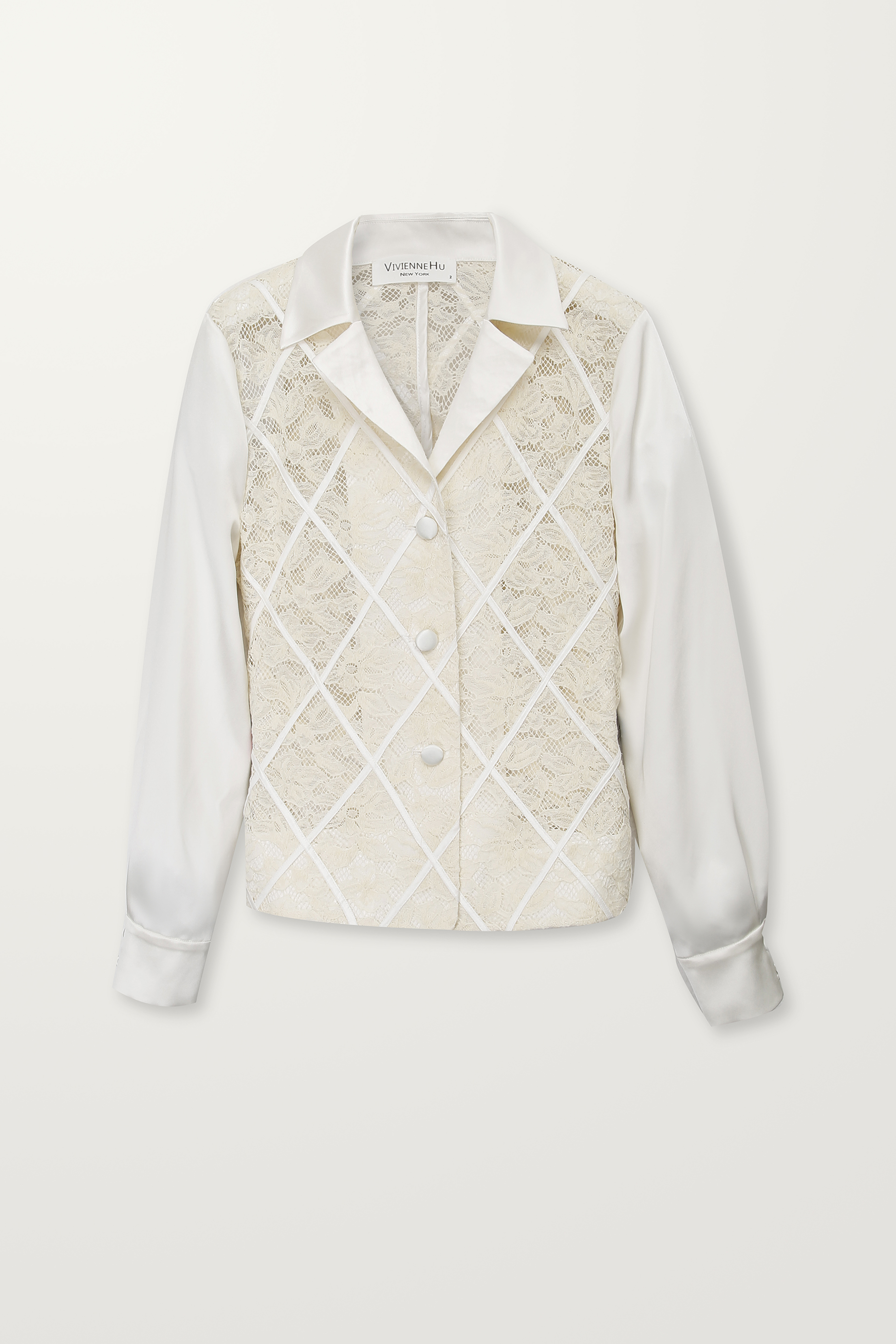 Diamond panel jacket