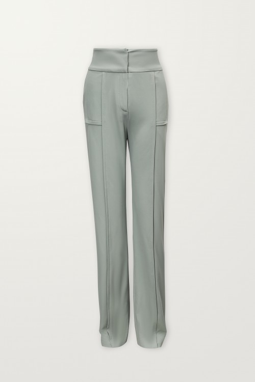 Sage trouser