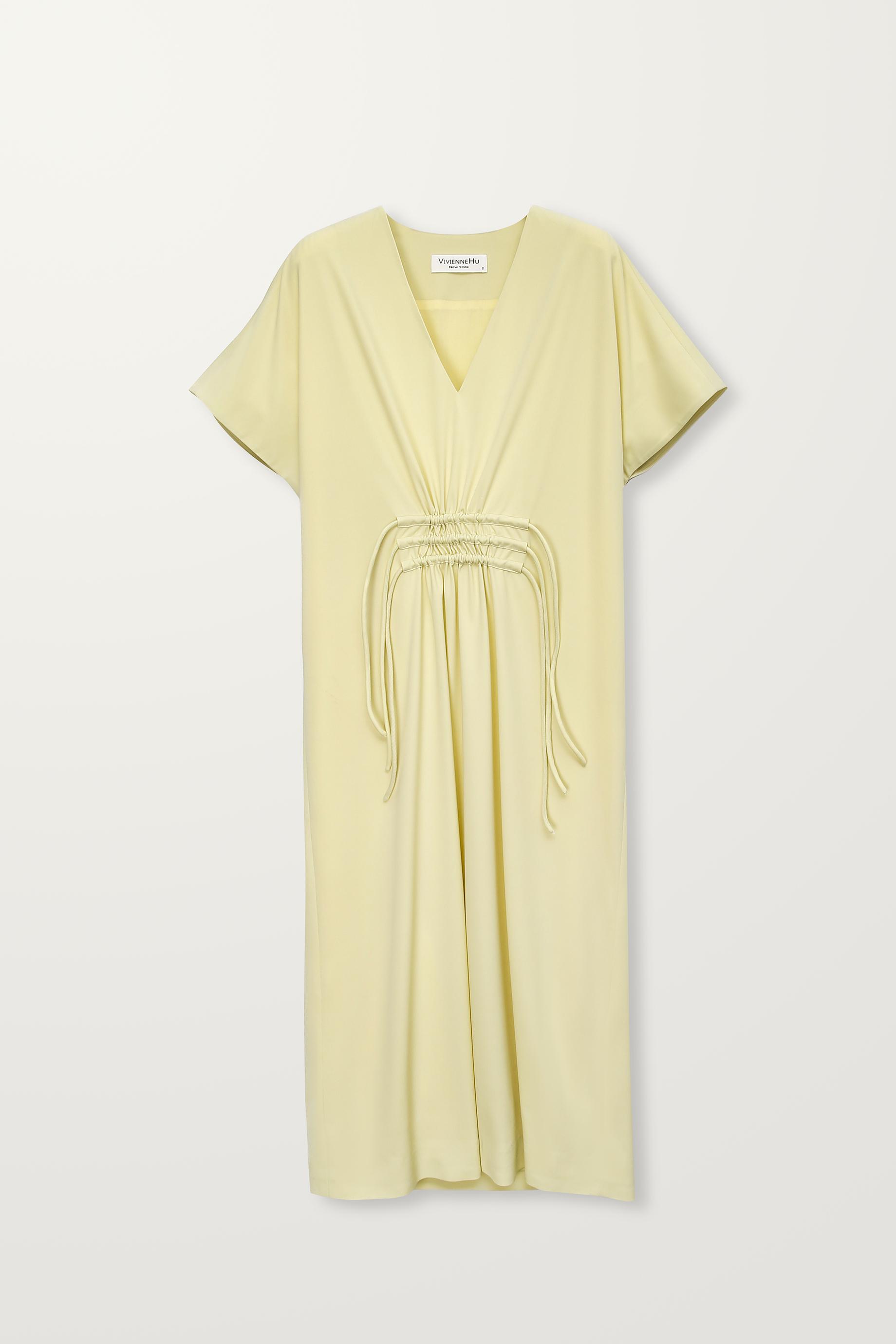 Three string long dress