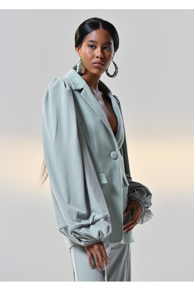sage jacket for women