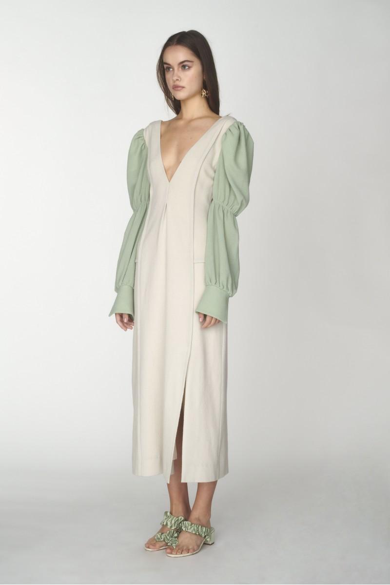 low cut dress