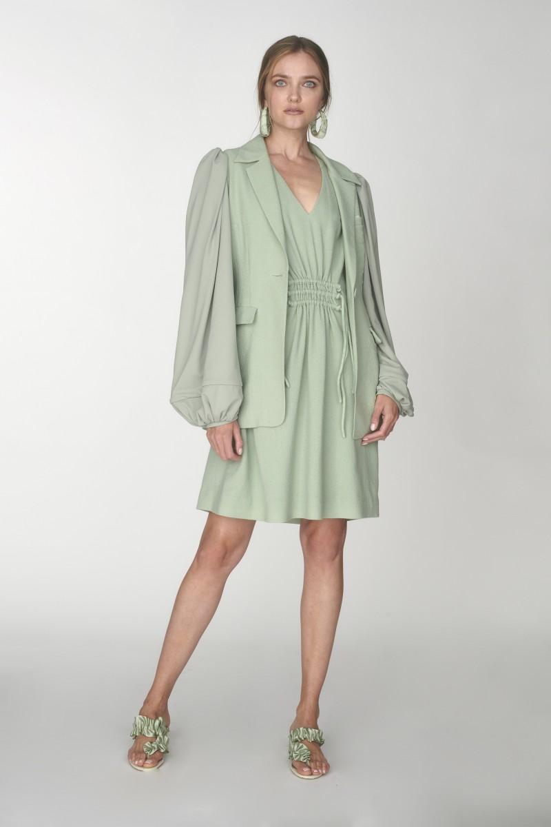 wool long sleeve dress