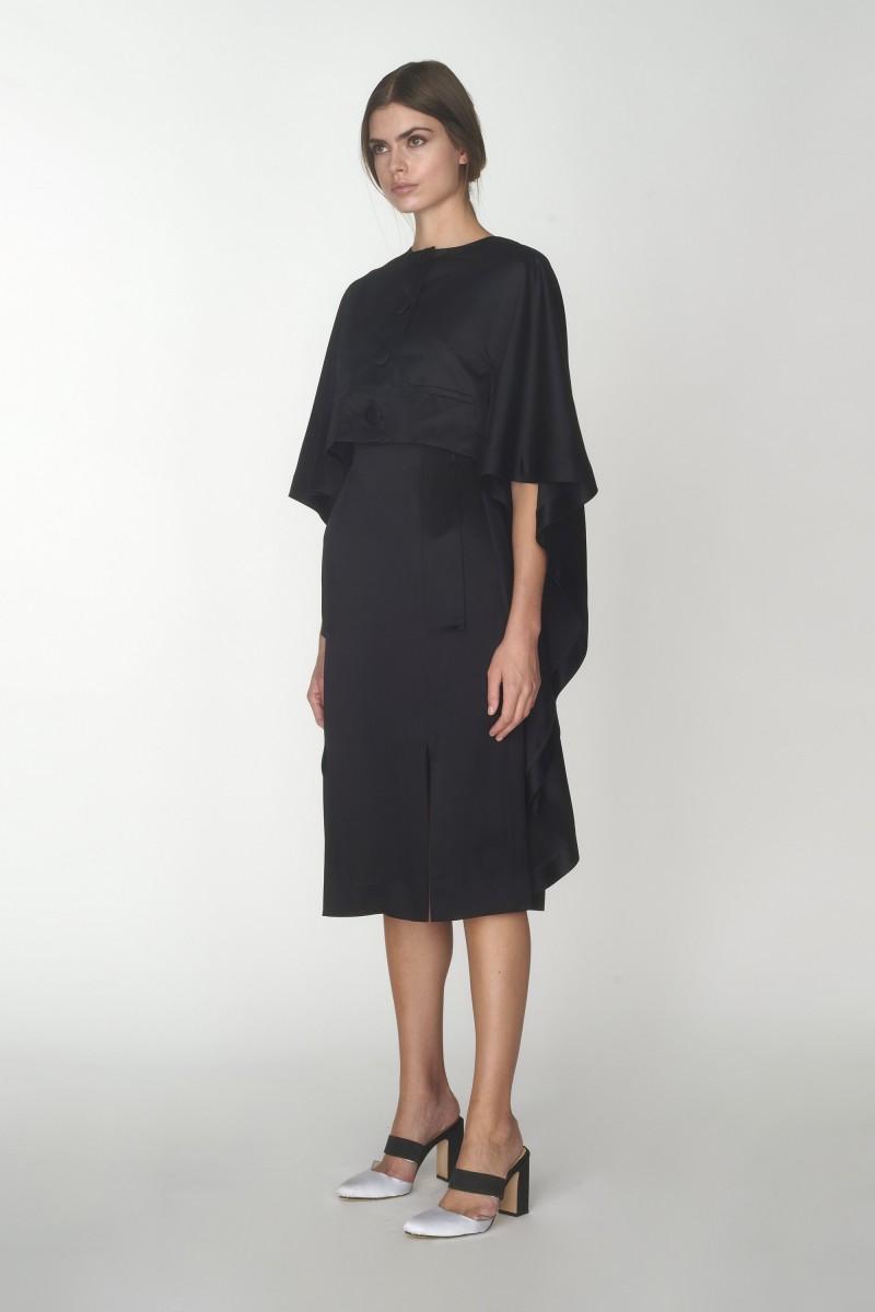 womens black cape