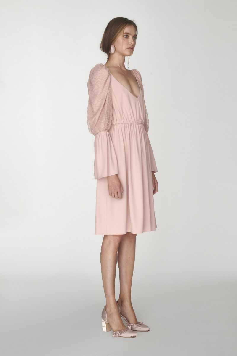 short layered dress