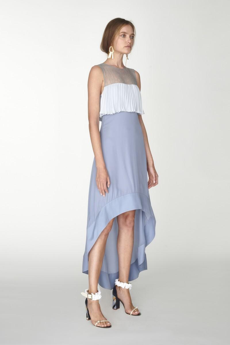 long high low dress