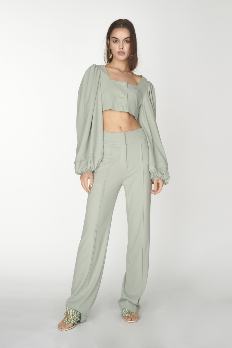 ladies highwaisted trousers