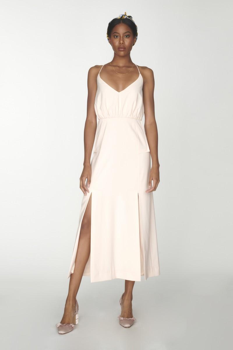 crossed back dresses