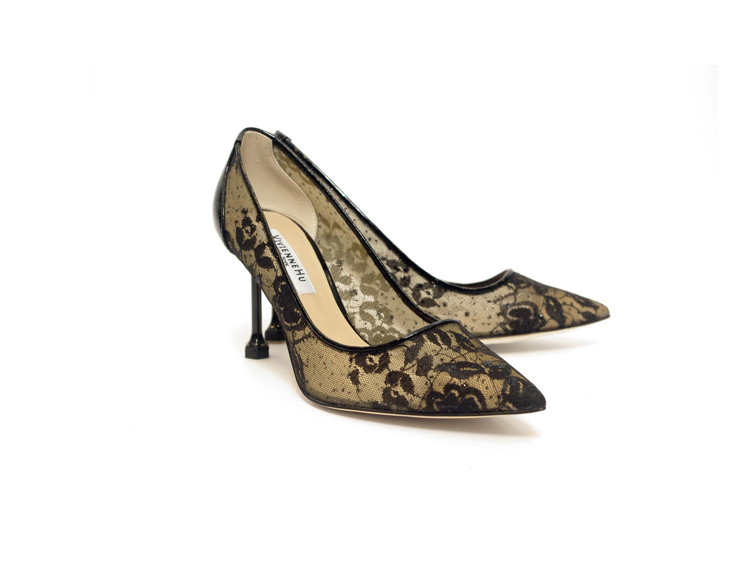 Lady Lace Pointed Toe