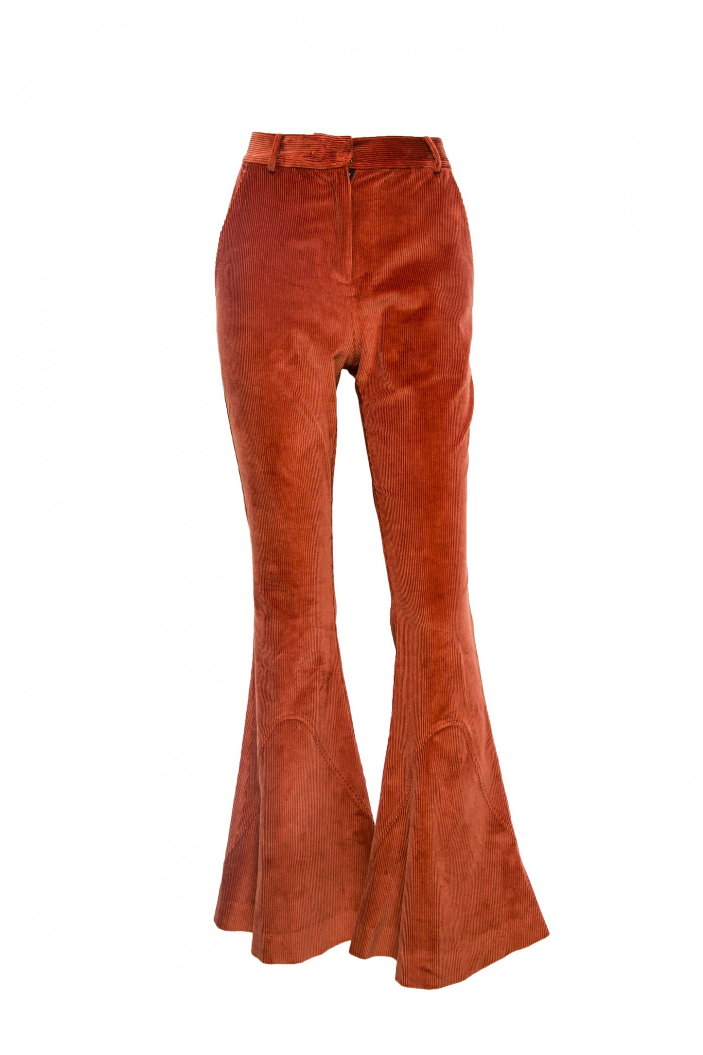 Corduroy Pant with Slight Flare