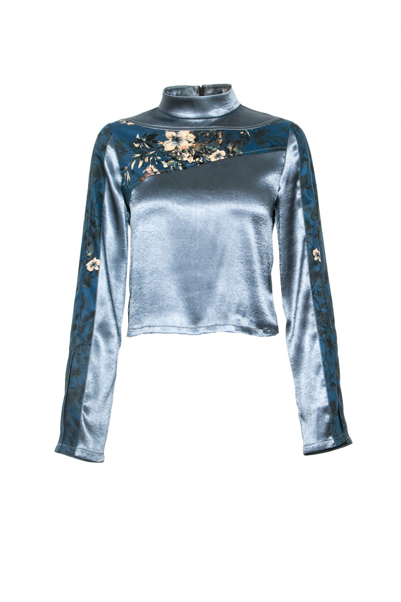Long Sleeve Top with Floral