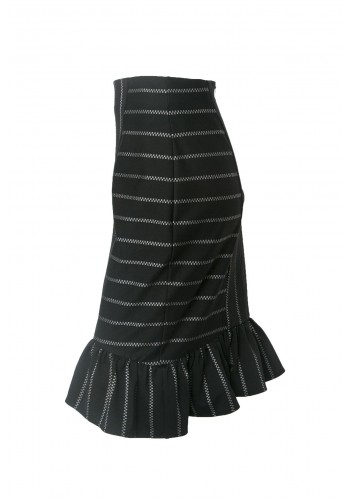 Bubble Skirt with Ruffle