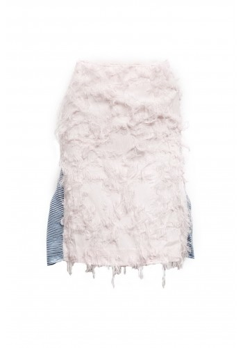 FURRY SUIT SKIRT