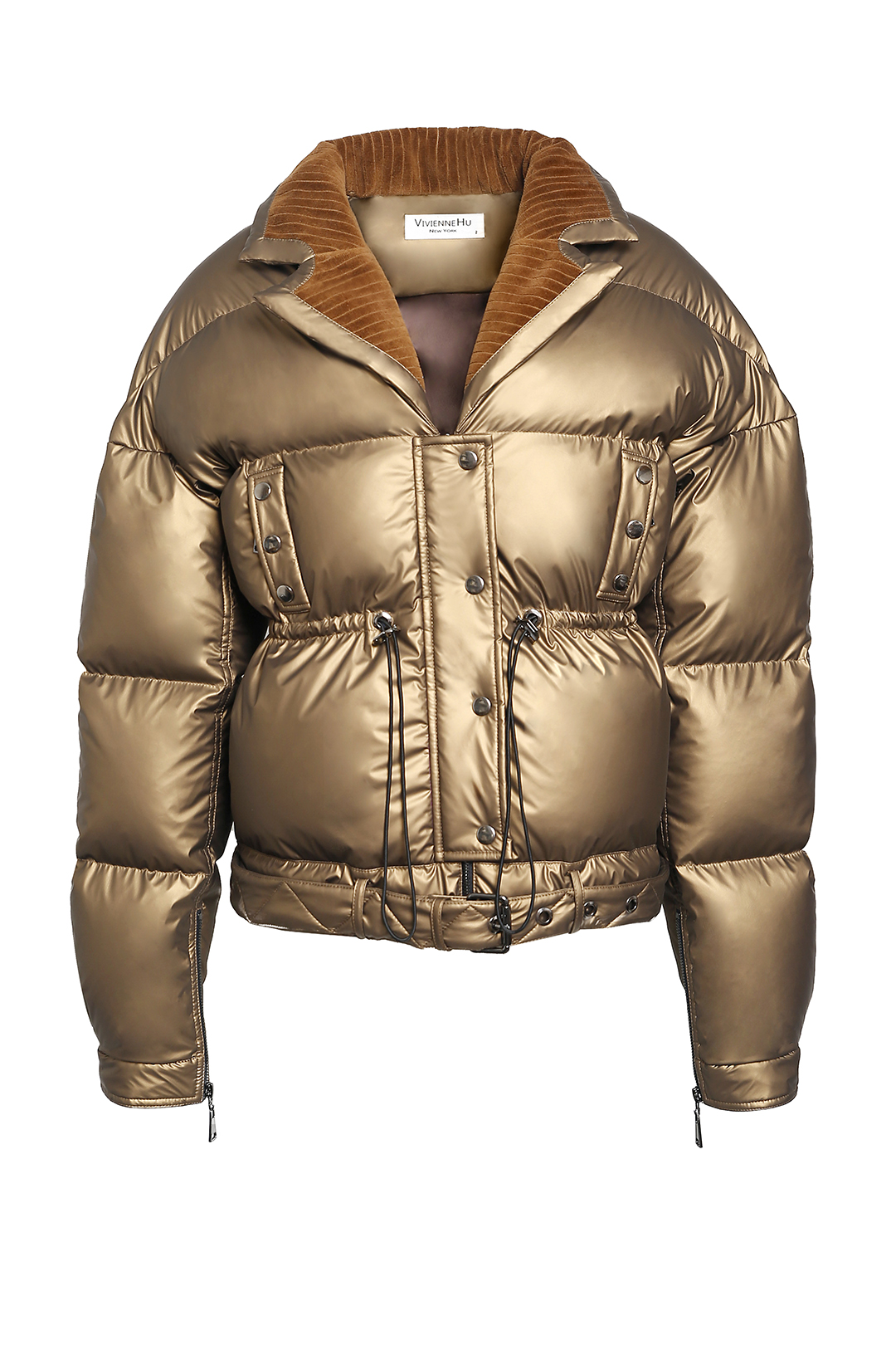 Shine Drawstring Down Jacket