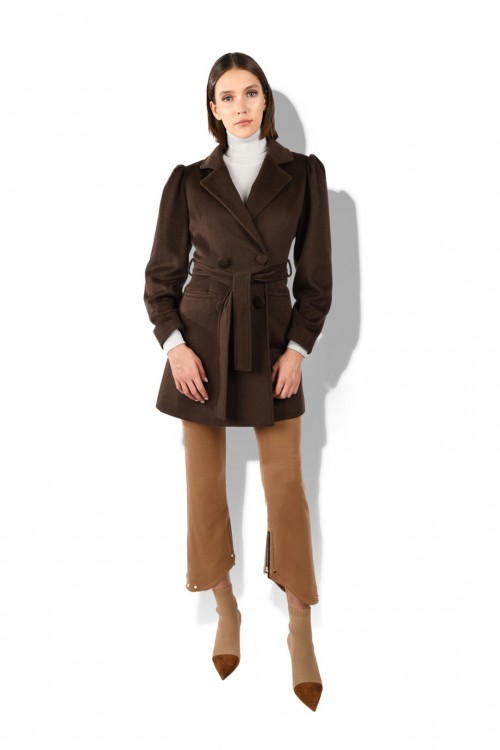 Brown Angora Coat