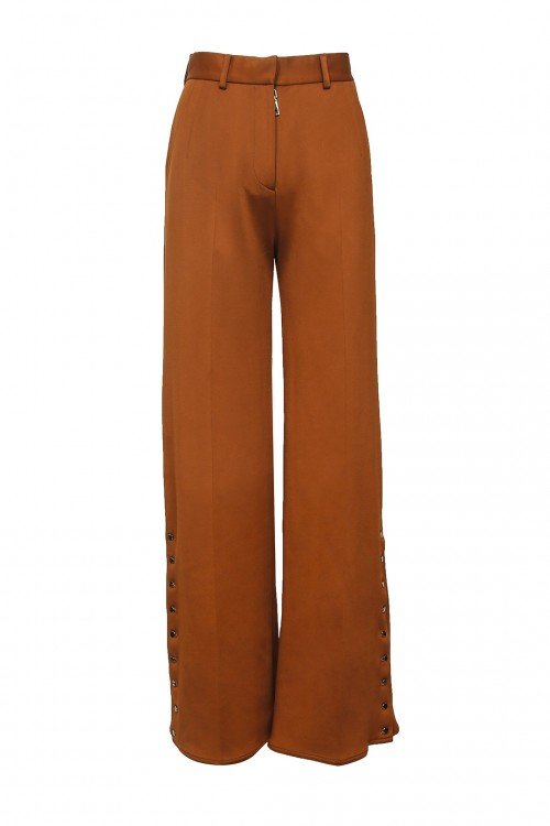 Brown Suit Pants