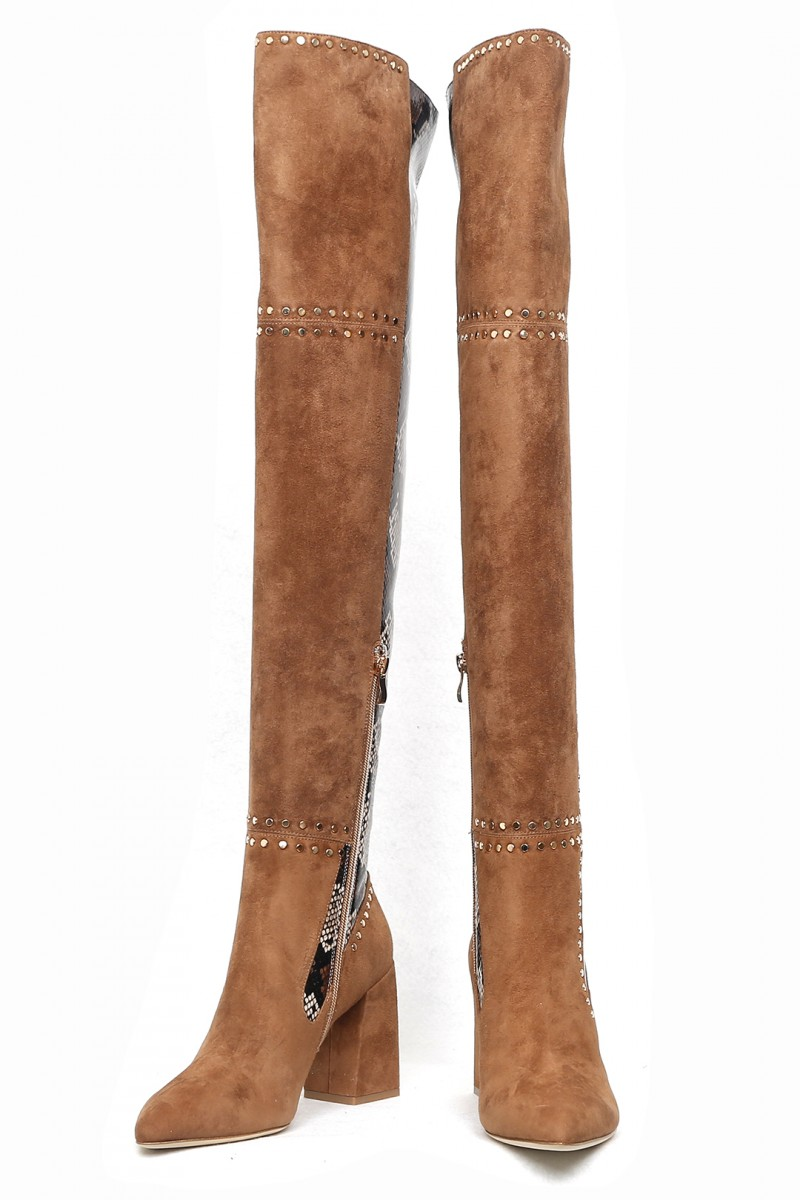Mathilde Over-knee Boots
