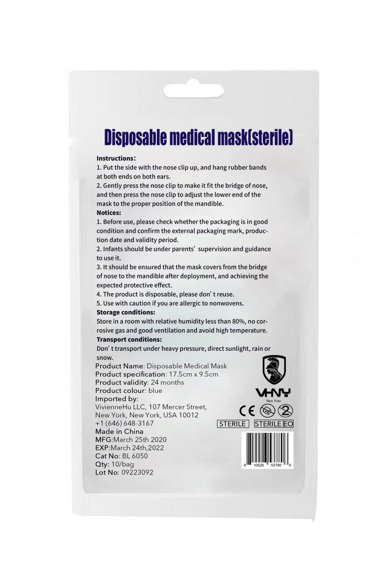 Disposable medical mask(10pcs)