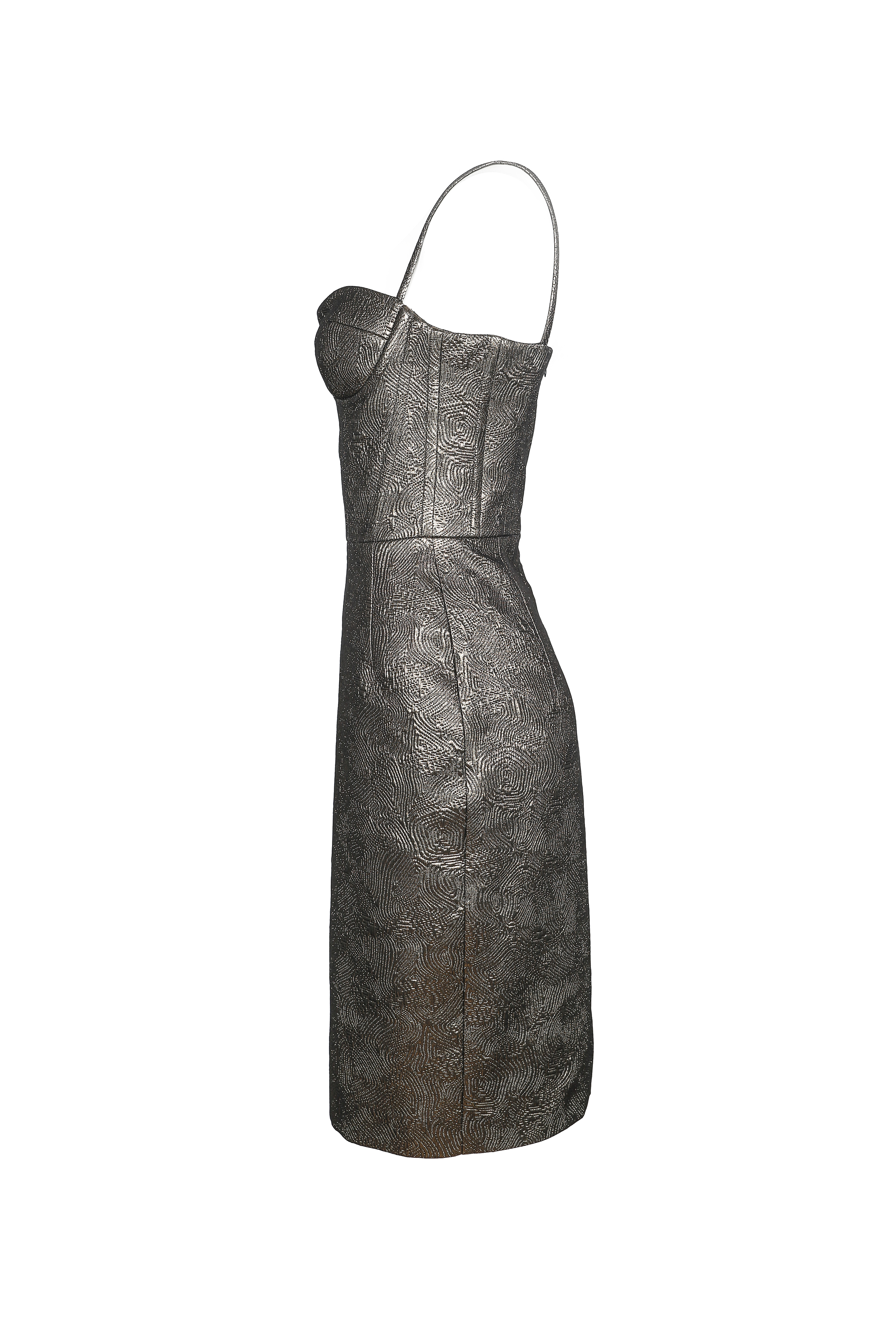 Jacquard Corset Dress
