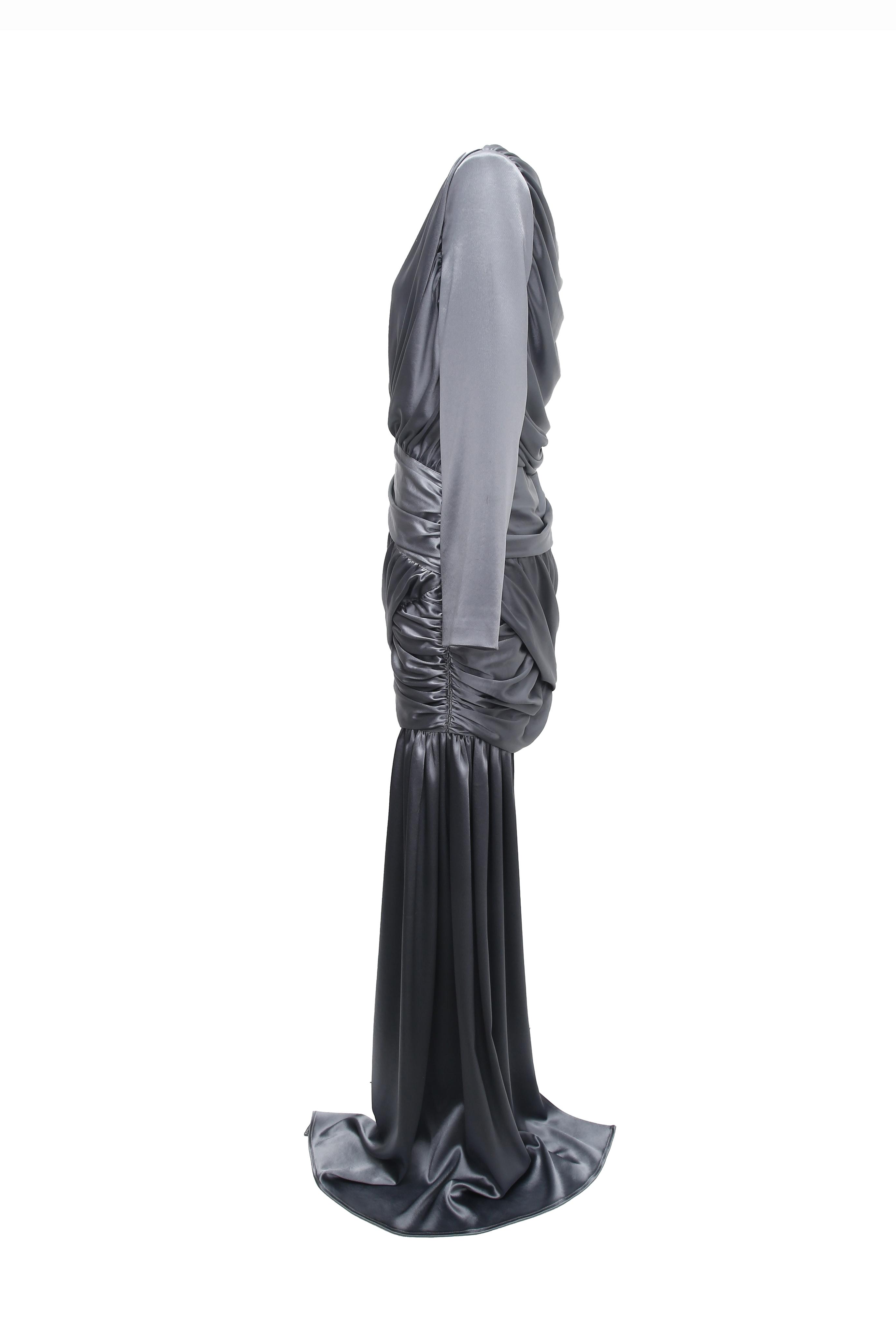 Gathered Draped Dress