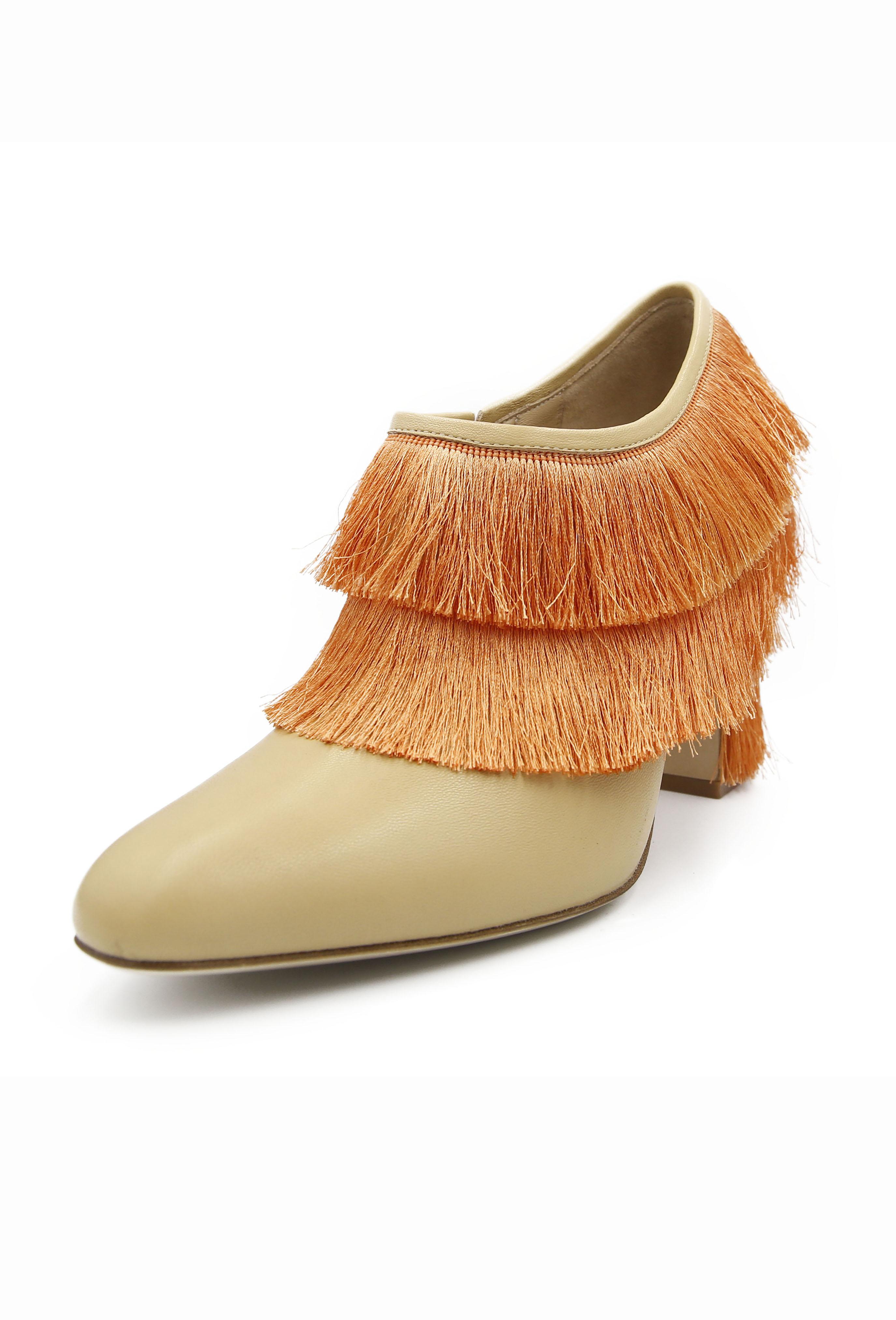 Orange Rosamonde Heels