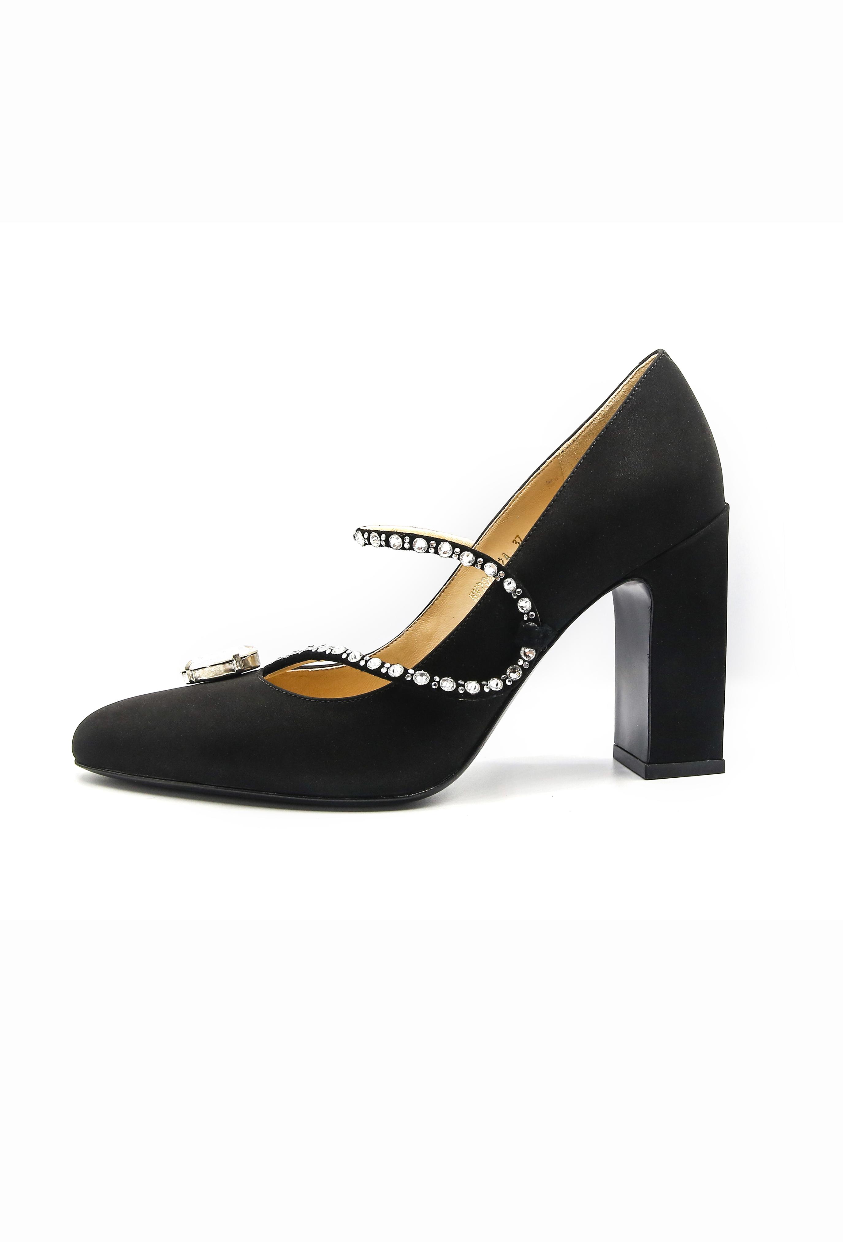 Black Sinclair Heels