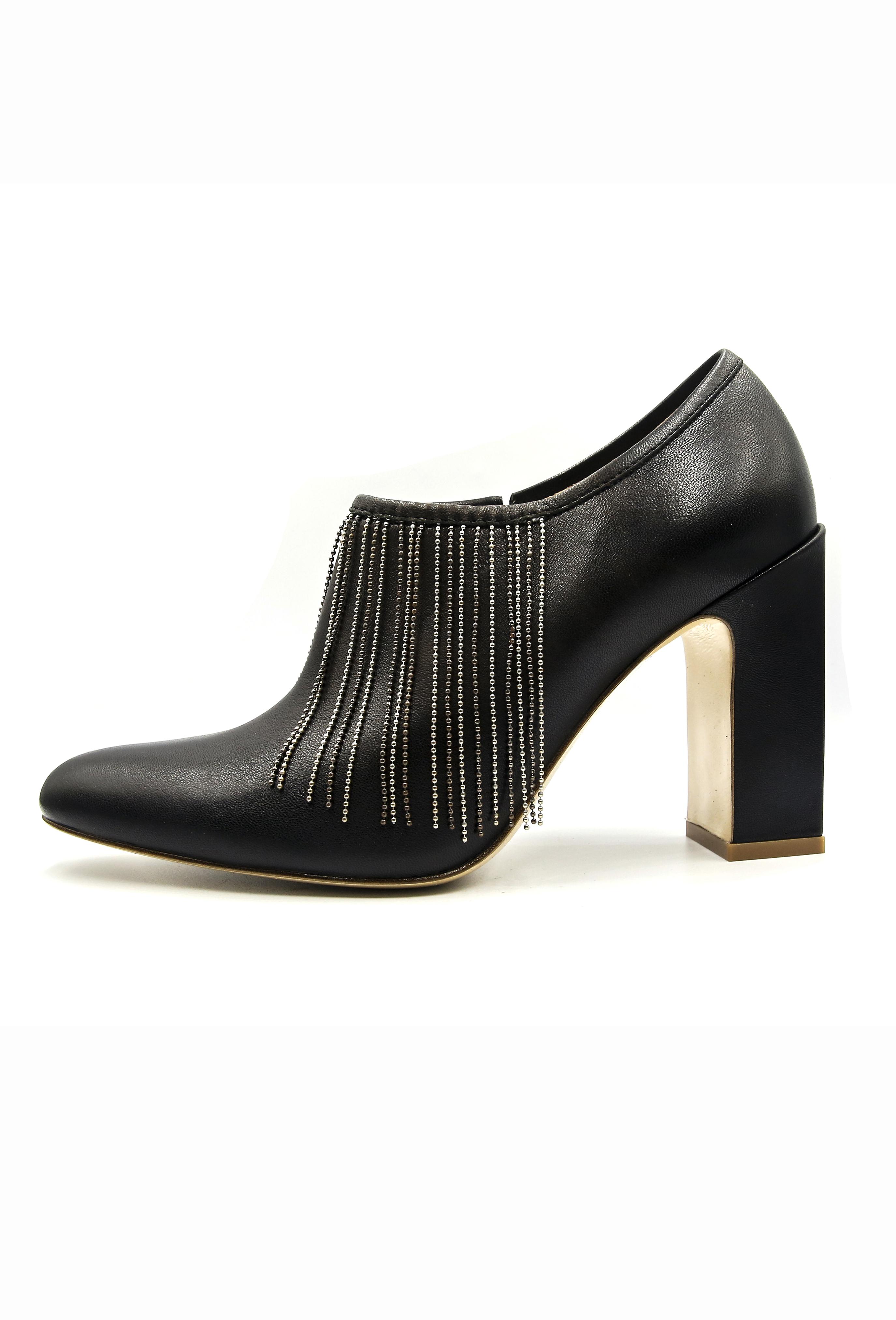 Black Nicolette Heels