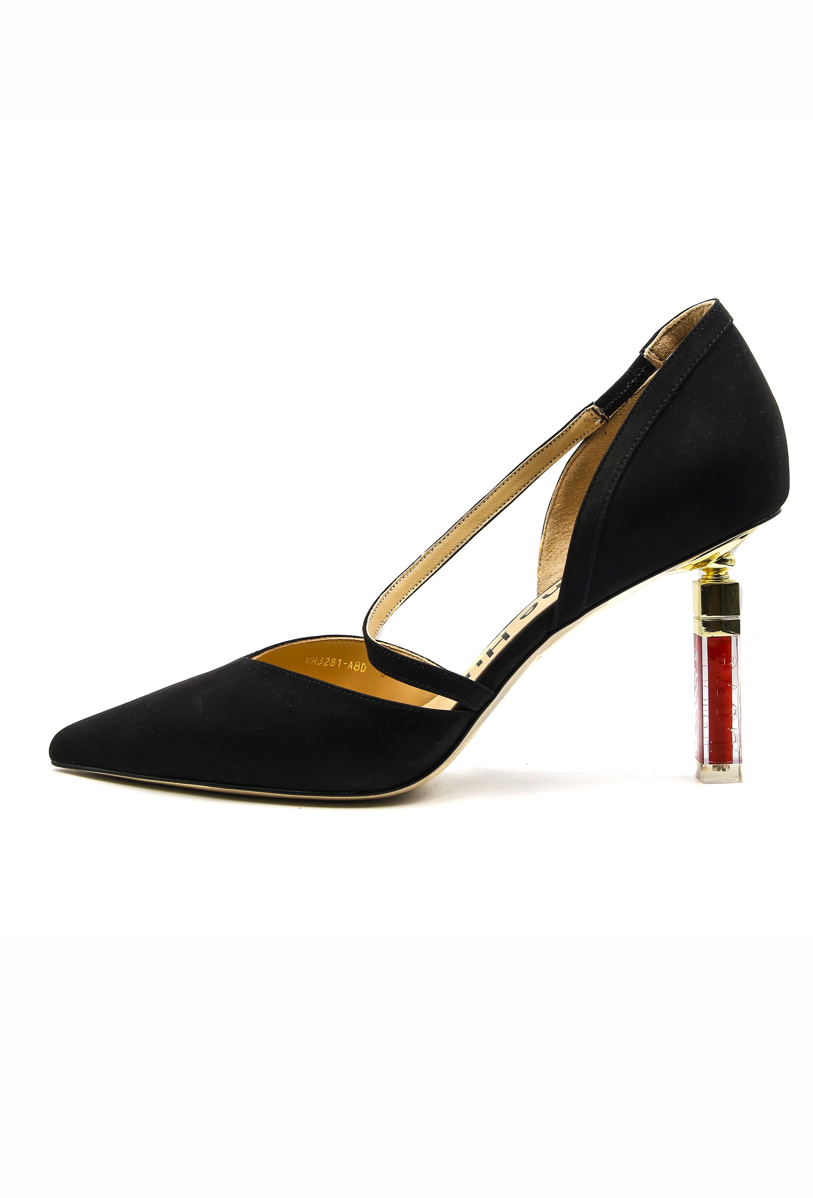 Black Ismay Heels