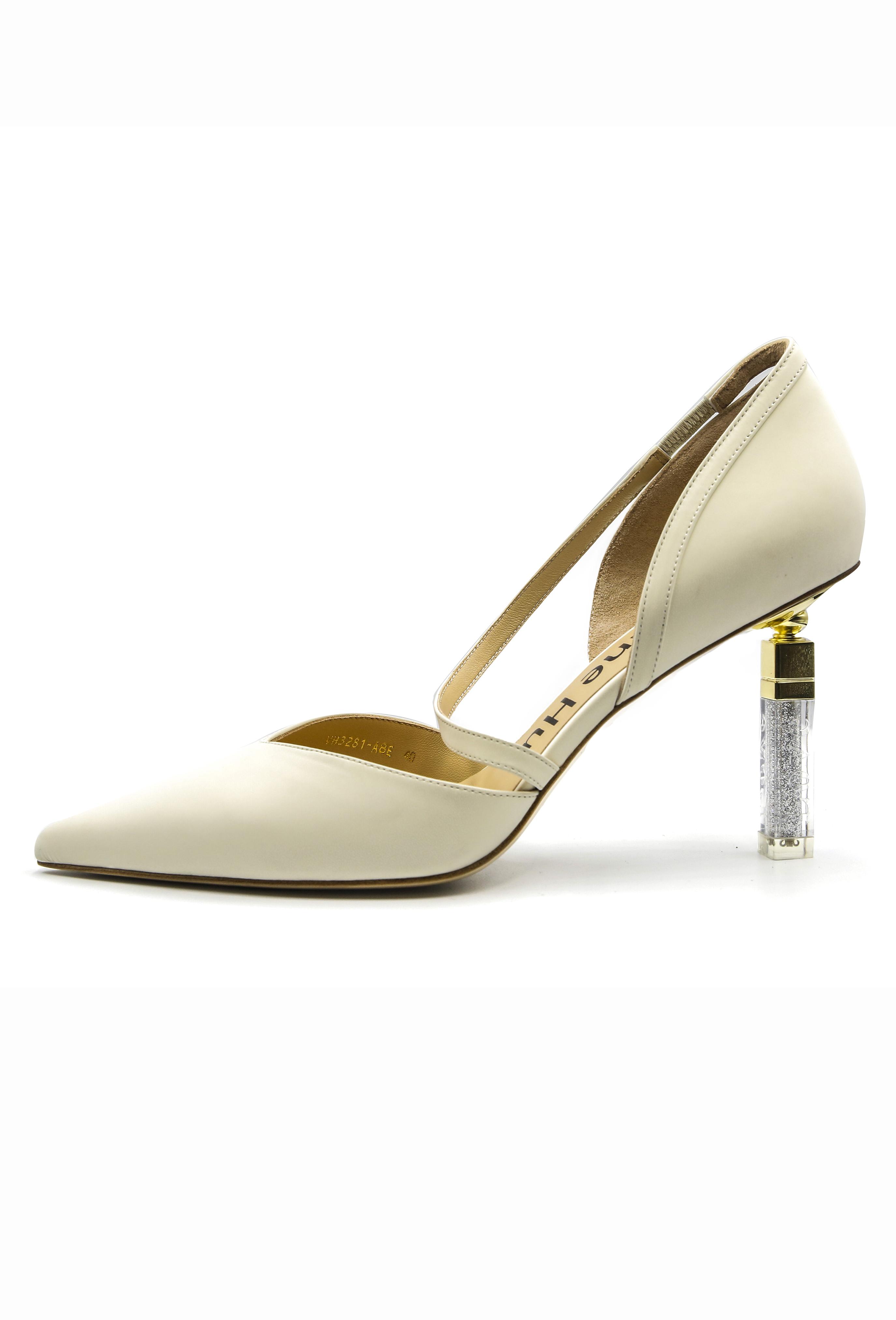 White Ismay Heels