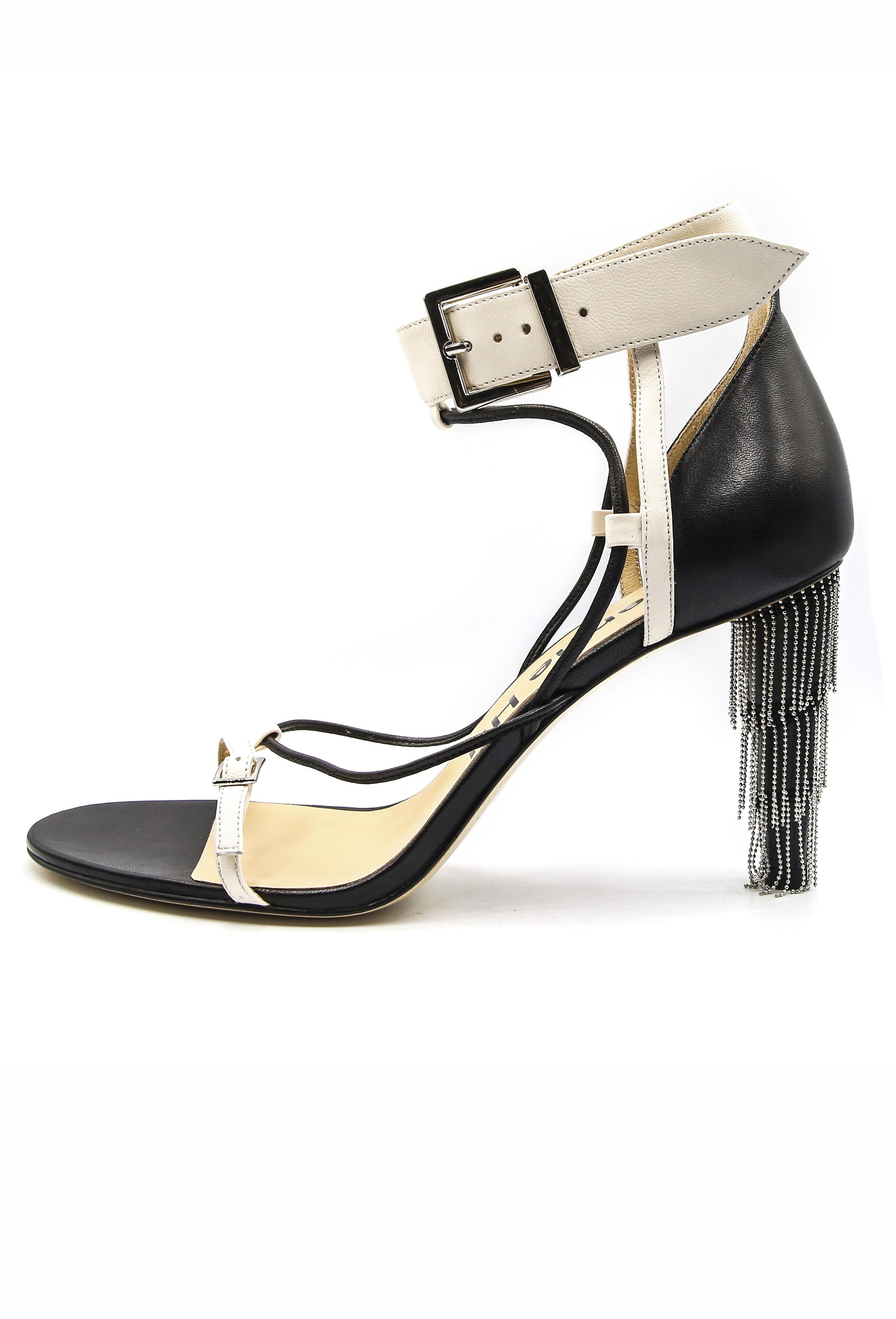 White Yvette Heels