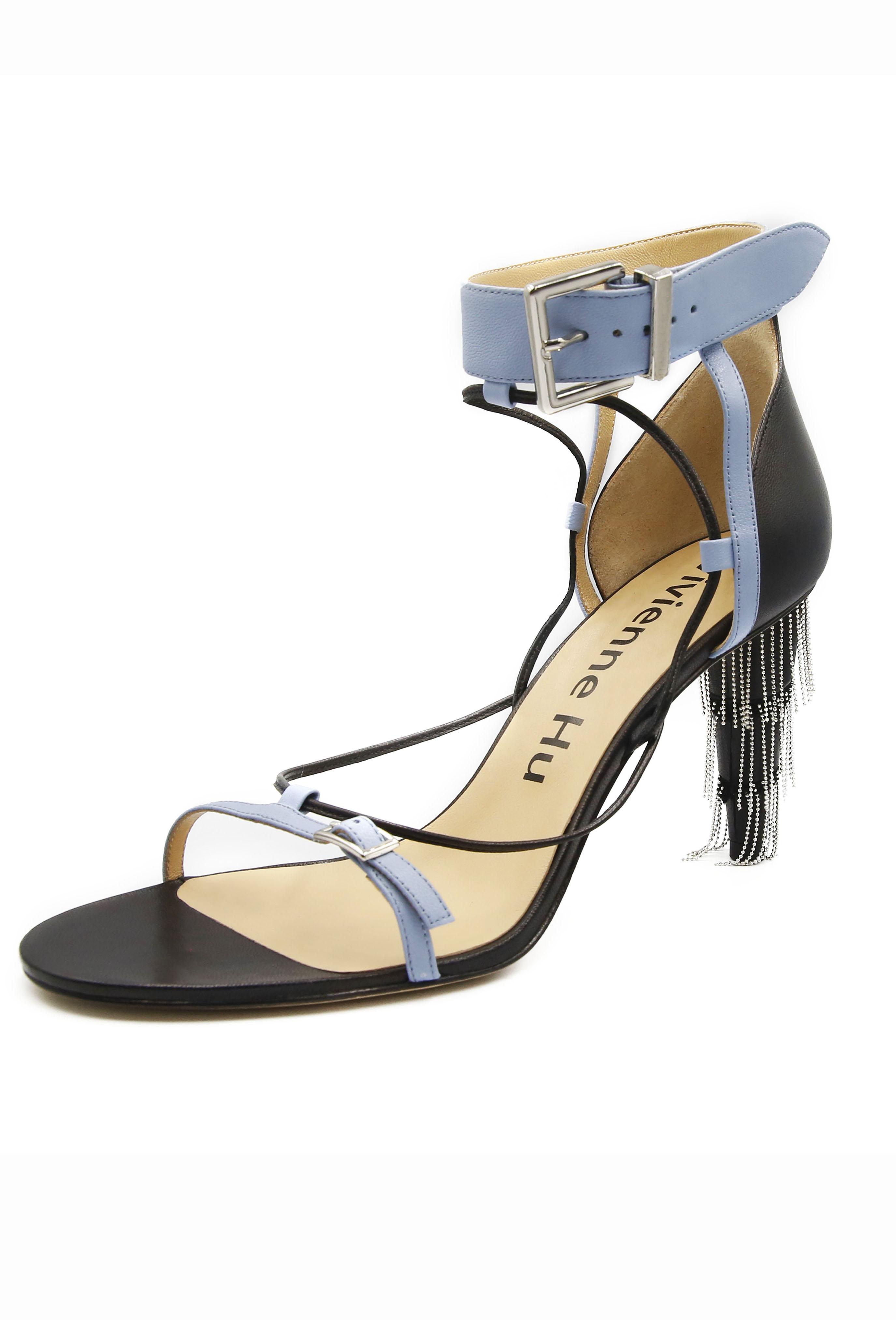 Blue Yvette Heels