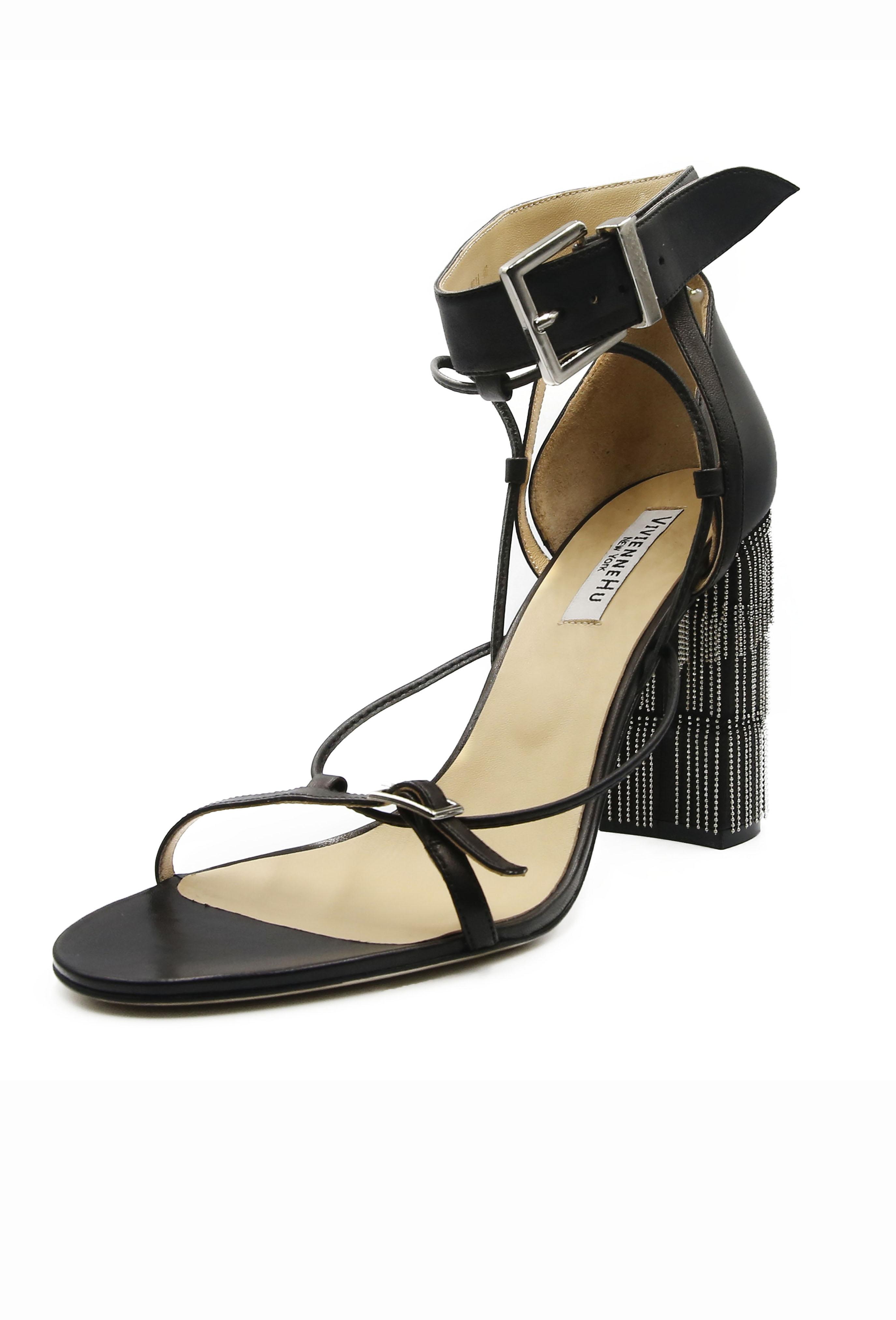 Black Honore Heels